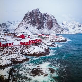 Lofoten Islands - Obrázkek zdarma pro iPad Air