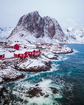 Lofoten Islands - Obrázkek zdarma pro Nokia X1-00