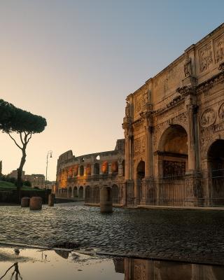 Colosseum ancient architecture - Obrázkek zdarma pro Nokia 5800 XpressMusic