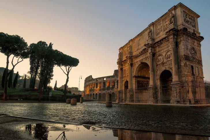 Colosseum ancient architecture wallpaper