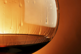 Cognac Glass Background for Android, iPhone and iPad