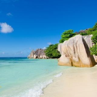 Tropics Sea Stones - Obrázkek zdarma pro iPad