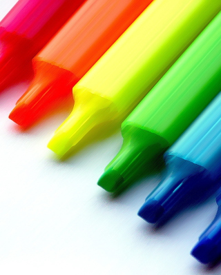 Colorful Pens - Obrázkek zdarma pro iPhone 6