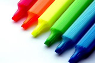 Colorful Pens Picture for Android, iPhone and iPad