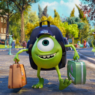 Monsters Uiversity Disney Pixar - Obrázkek zdarma pro 208x208