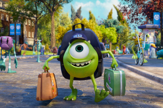 Monsters Uiversity Disney Pixar - Obrázkek zdarma pro Fullscreen 1152x864