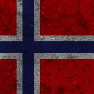 Norway Flag Scandinavian Cross - Obrázkek zdarma pro 320x320