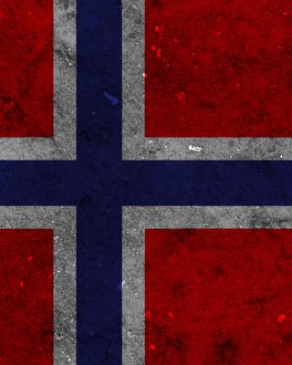 Norway Flag Scandinavian Cross - Obrázkek zdarma pro Nokia Asha 305