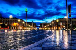 Nice, France, French Riviera - Obrázkek zdarma pro Android 320x480