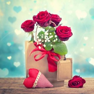 Send Valentines Day Roses - Obrázkek zdarma pro iPad 3