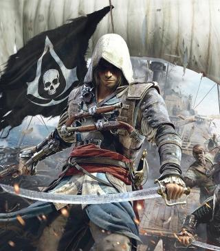 Assassins Creed 4 Black Flag Game - Obrázkek zdarma pro Nokia Asha 503