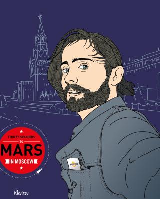 30 Seconds To Mars In Moscow - Obrázkek zdarma pro Nokia Asha 503