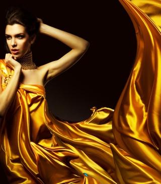 Golden Lady - Obrázkek zdarma pro iPhone 4
