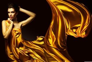 Golden Lady - Obrázkek zdarma pro Fullscreen 1152x864