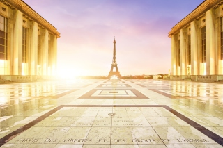 Free Paris - Palais De Chaillot Picture for Android, iPhone and iPad