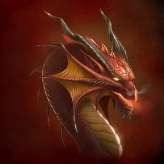 Dragon Head - Obrázkek zdarma pro 128x128