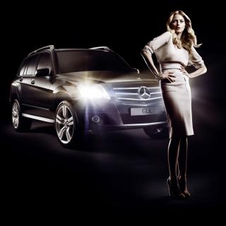 Mercedes Benz Fashion Week Advertising - Obrázkek zdarma pro iPad Air