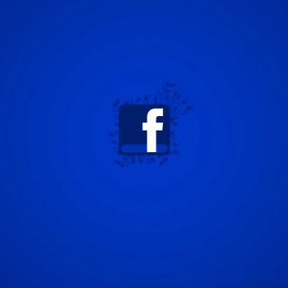 Facebook Social Network Logo - Obrázkek zdarma pro 320x320