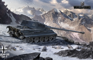 Free Tiger II - World of Tanks Picture for Android, iPhone and iPad