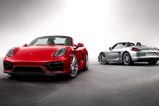 Free Porsche Boxster GTS Picture for Android, iPhone and iPad