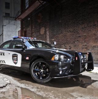 Dodge Charger - Police Car - Obrázkek zdarma pro iPad 2