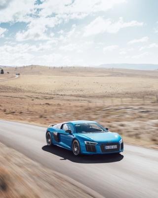 Audi R8 V10 Plus - Obrázkek zdarma pro iPhone 4S