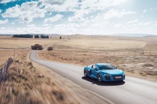 Audi R8 V10 Plus - Obrázkek zdarma pro HTC Desire