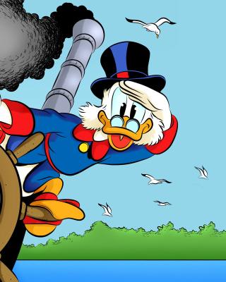 DuckTales, richest duck Scrooge McDuck - Obrázkek zdarma pro Nokia C1-01
