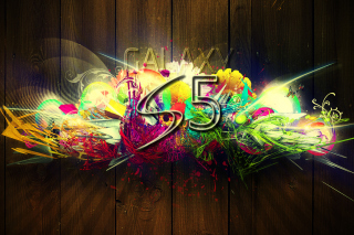 Galaxy S5 Graffiti Background for Android, iPhone and iPad