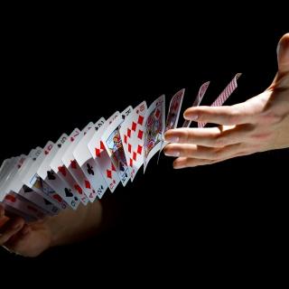 Playing cards trick - Obrázkek zdarma pro 2048x2048