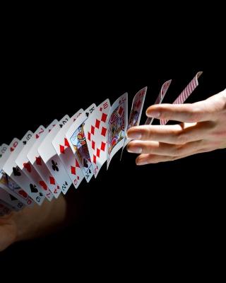 Playing cards trick - Obrázkek zdarma pro Nokia C6-01
