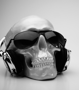 Fancy Skull - Obrázkek zdarma pro 132x176