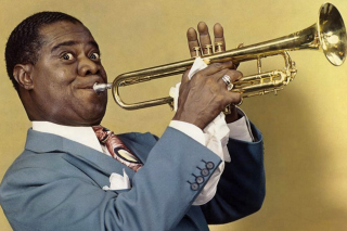 Louis Armstrong, Jazz History Wallpaper for Android, iPhone and iPad