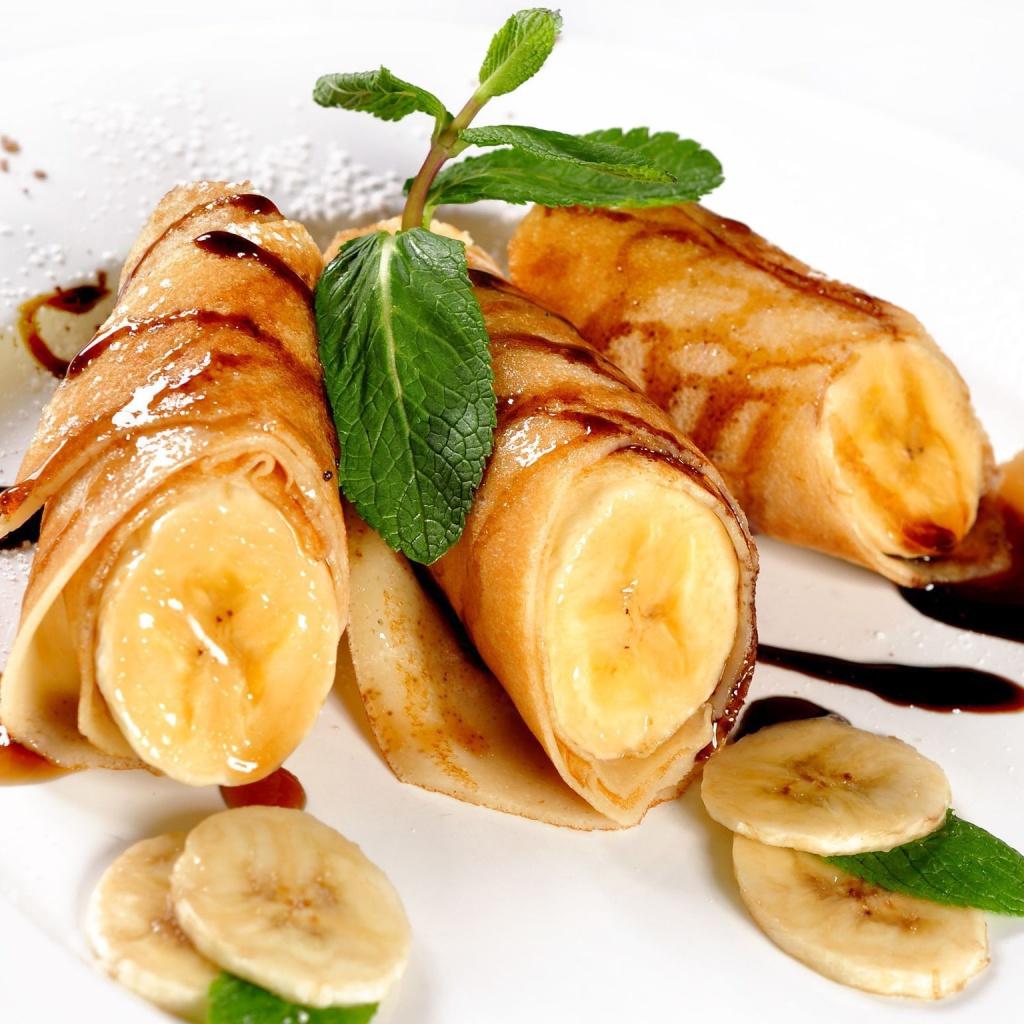 Как сделать начинку из бананов и шоколада