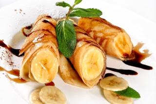 Sweet banana dish sfondi gratuiti per cellulari Android, iPhone, iPad e desktop