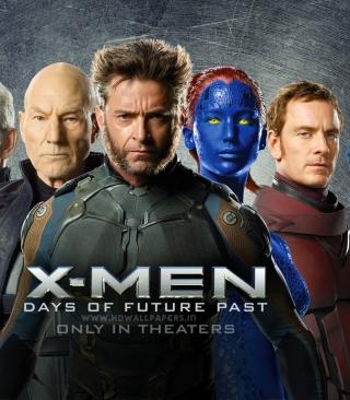 X-Men Days Of Future Past 2014 - Obrázkek zdarma pro 352x416