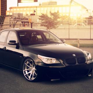 BMW 545i E60 E39 - Obrázkek zdarma pro 208x208