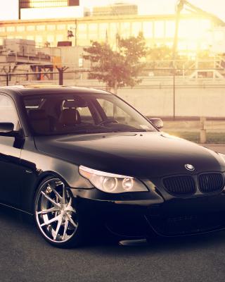 BMW 545i E60 E39 - Obrázkek zdarma pro 640x1136