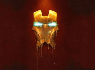 Ironman Logo Wallpaper for Android, iPhone and iPad