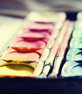 Colorful Paints - Obrázkek zdarma pro 360x640