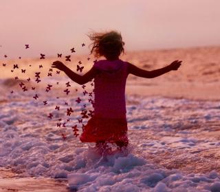 Sea Butterflies - Obrázkek zdarma pro iPad