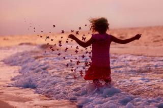 Sea Butterflies - Obrázkek zdarma pro 1440x1280