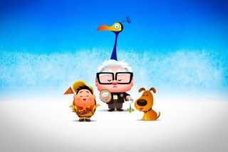 Up Movie Kawaii Background for Android, iPhone and iPad