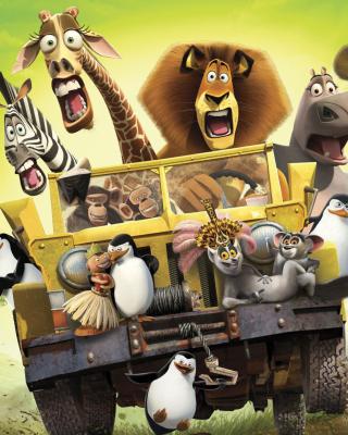 Madagascar - Obrázkek zdarma pro Nokia X3-02