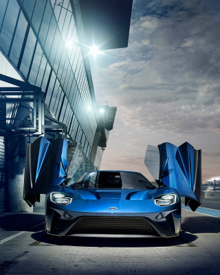 2017 Ford GT - Obrázkek zdarma pro Nokia C6