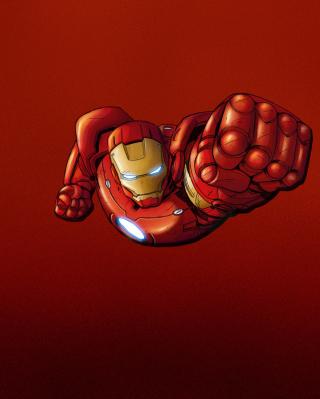 Iron Man Marvel Comics - Obrázkek zdarma pro Nokia X2