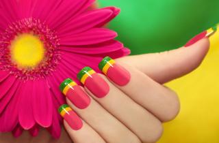 Colorful Nails - Obrázkek zdarma pro Nokia Asha 201