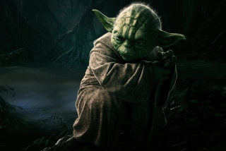 Jedi Master Yoda Picture for Android, iPhone and iPad
