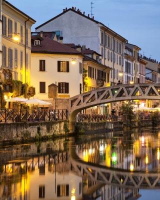 Milan Canal Navigli District - Obrázkek zdarma pro Nokia 5800 XpressMusic