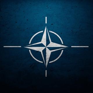 Flag of NATO - Obrázkek zdarma pro 320x320